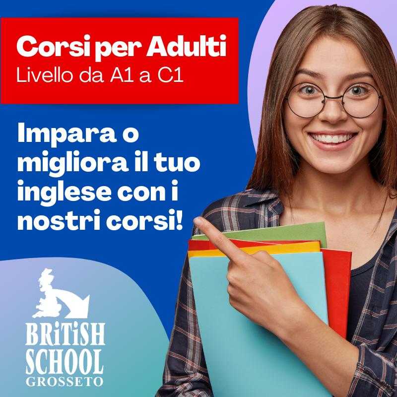corsi inglese per adulti grosset