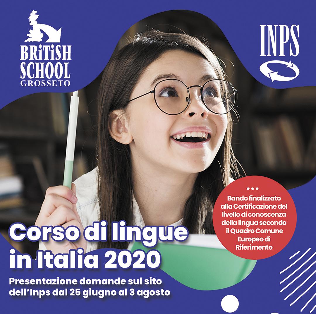 Corso di lingue in Italia 2020: pubblicato il bando Inps!
